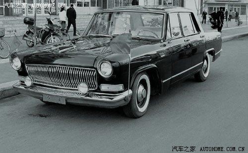 CA771双排高级轿车』-中国第一代国产阅兵车