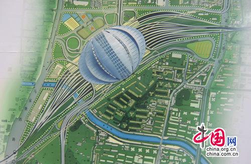 阜寧高鐵南站設計圖展示