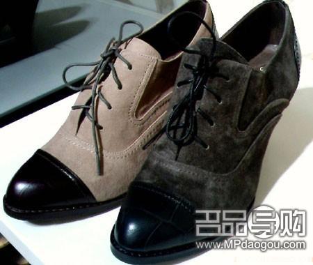 这季最流行穿男友牛津鞋