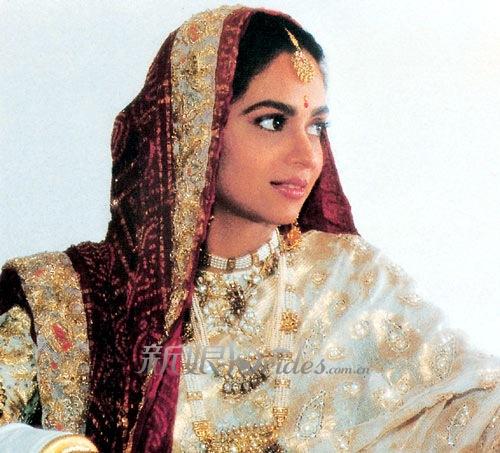 印度新娘的神秘手绘