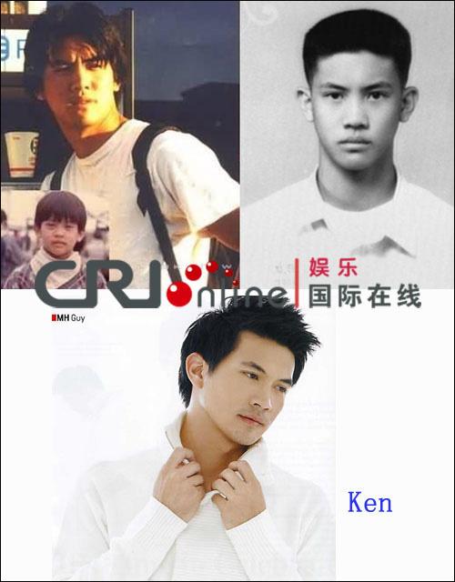 Ken:依照片对比来看,Ken还是比较适合长发.半寸头发的他感觉很图片