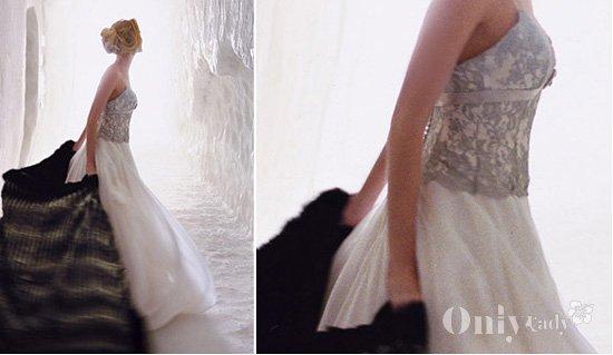 冬季新娘皮草搭配方案