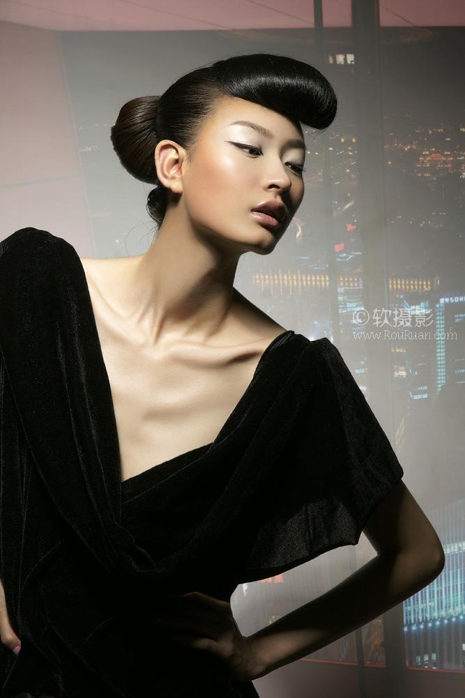 07年新丝路中国模特大赛冠军 07年十大最具影响力新面孔模特 马青