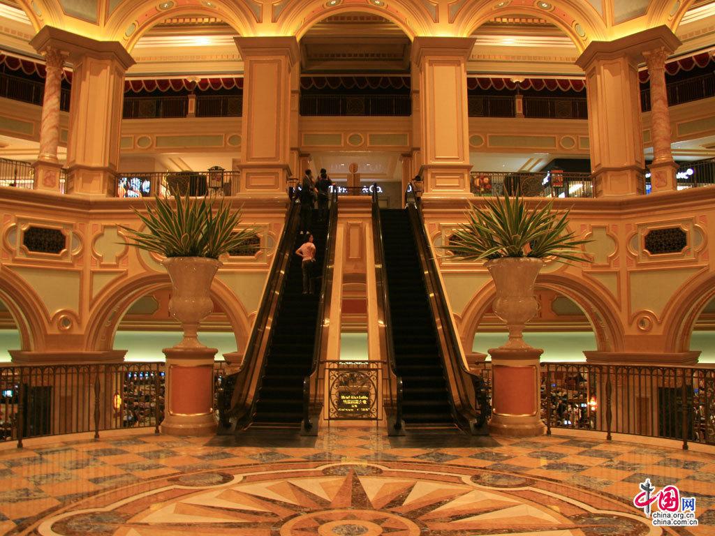 旅行遭遇奢华 澳门威尼斯人酒店游记(图)_图片中心_中国网