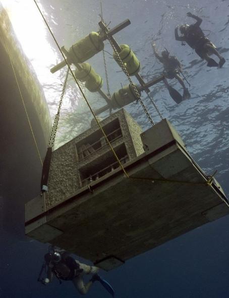 墨西哥开建海底最大雕塑很好奇表情包组图博物馆(世界)图片