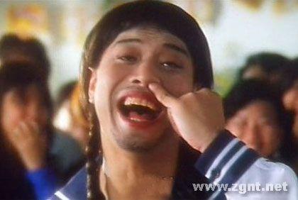 周杰伦张国强赵本山影视剧中十大雷人表情(组可爱做鬼脸表情包图片