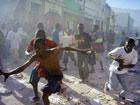 地震过后 海地骚乱