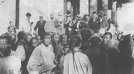 1900年,北京,意大利使馆