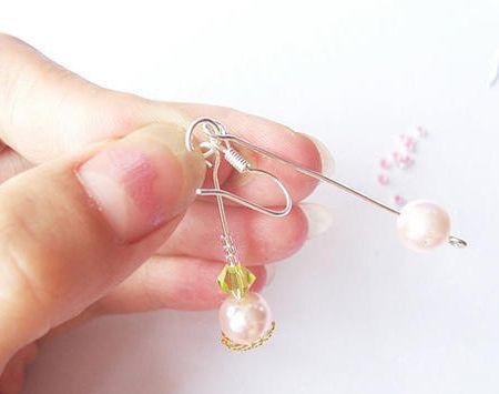 一起来做DIY串珠耳环