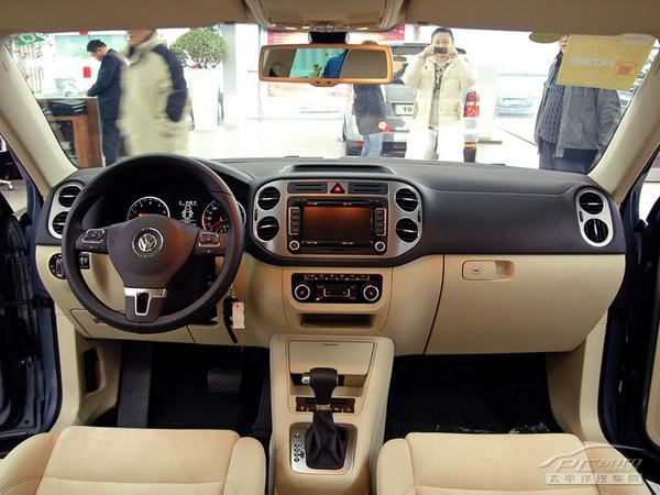 上海大众首款SUV途观接受预定高清图片