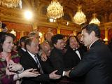 法国总统府举行新春招待会