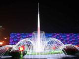 花灯扮靓奥林匹克公园