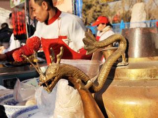 2010年北京国际雕塑公园新春文化庙会