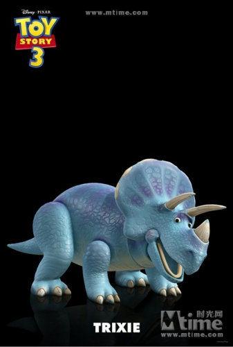 克龙弗兰德犬-粉红色小熊.   Mtime时光网2月24日报道 日前,《玩具总动员3》又发高清图片