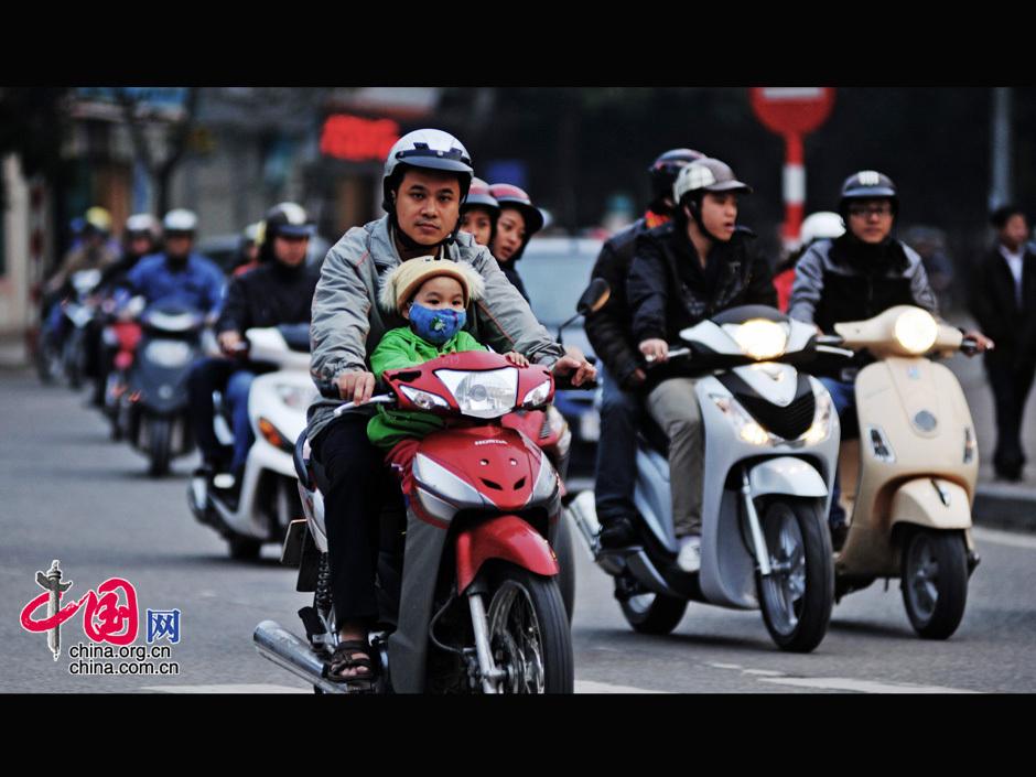 名副其实的摩托车王国 越南 图片中心 中国网