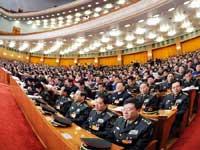 十一届全国人大三次会议举行第二次全体会议[组图]