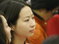 温家宝总理记者见面会上的中外记者风采[组图]