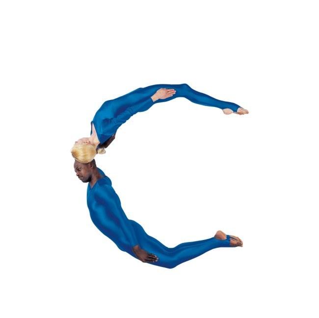 舞蹈演员用字母摆出26个英文教程造型limesurvey身体使用图片