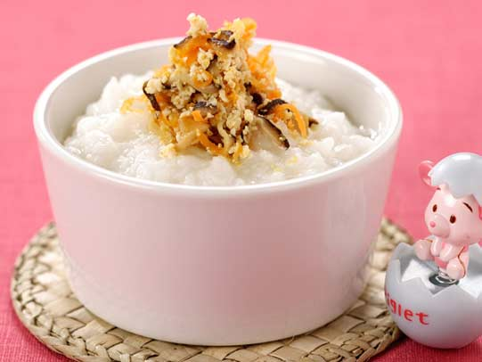 宝宝的营养餐:鲜味蘑菇宴