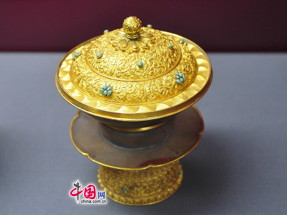 """""""故宫珍宝-清代帝后御用金器""""皇家国宝亮相京城 - 酷卖潮物~吧 - 酷卖潮物~吧"""