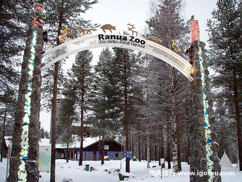 拉努阿野生动物园包括熊,芬兰北极熊,猞猁,狼,狼獾,驼鹿等.