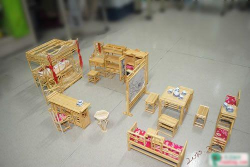 [zt]一次性筷子制作仿古小家具
