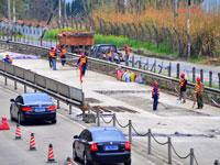 """三峡专用公路开始""""刷黑"""""""