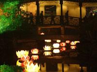 《元宵节,薛福成故居里的荷花灯》