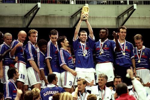 1998年世界杯决赛 法国队3 0巴西