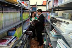 孔子学院的图书馆