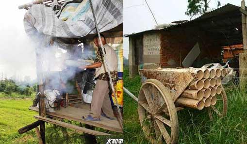 武汉农民自制土炮轰退百人强拆队