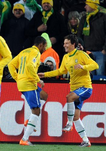 世界杯G组 巴西-朝鲜[组图]