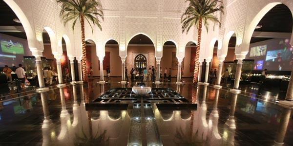"""摩洛哥馆:""""北非花园""""呈现精美城市""""长卷"""""""