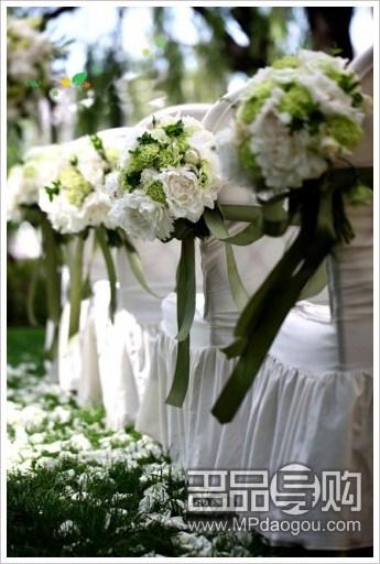 缤纷花饰花语 打造梦幻婚礼
