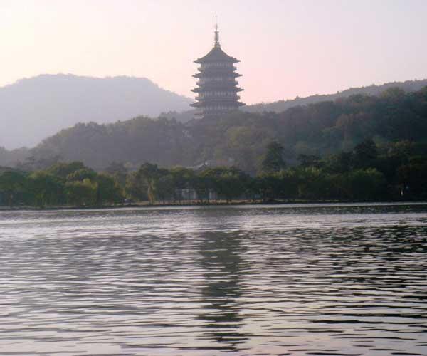 西湖十景三潭印月
