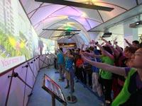 哈萨克斯坦馆:体验高科技互动的乐趣