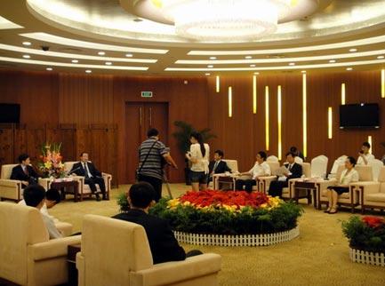 国际节能环保协会率团在安徽开展经济合作对话
