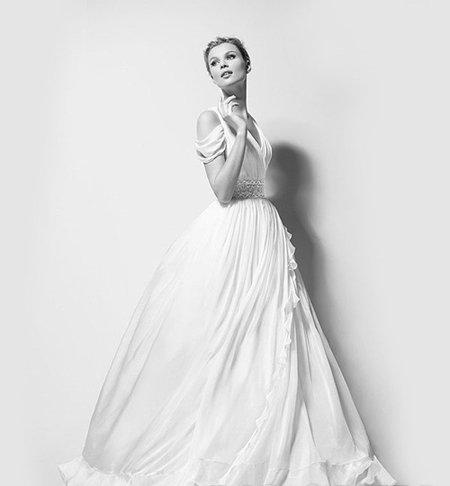 寻觅维多利亚时代的踪影 大牌复古奢华婚纱系列