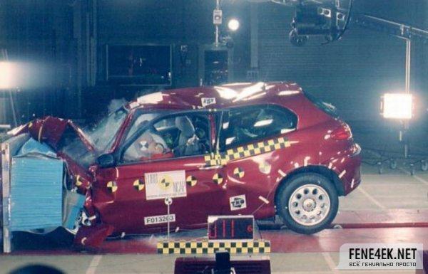 吓人 七款车型碰撞现场高清图片