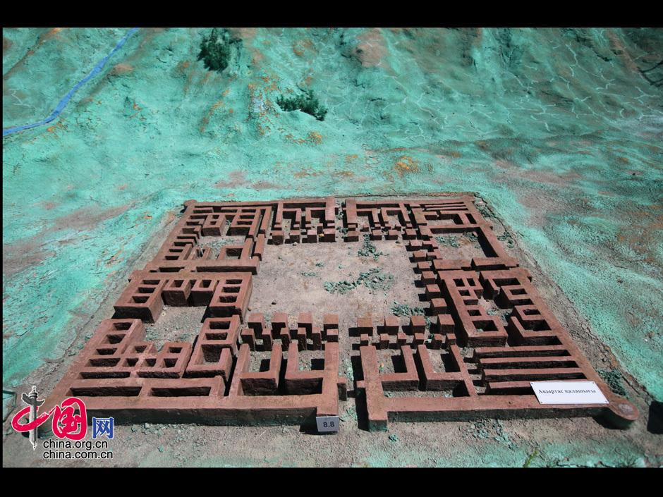 """akyrtas""古代城堡遗址.中国网/杨楠摄图片"