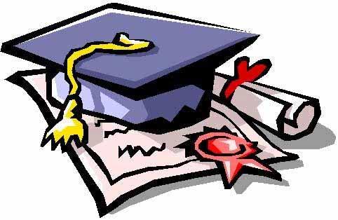 硕士毕业证书手绘漫画