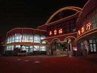 2010年6月20日起,已经有115年历史的北京丰台火车站将停办客运业务。这是6月19日晚拍摄的车站客运设施的最后影像。