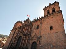 雄伟壮丽的秘鲁库斯科大教堂