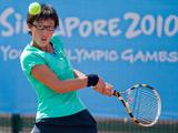 中国网球单打独苗——郑赛赛