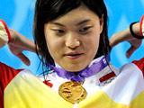 游泳:唐奕——三冠王!