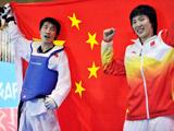 郑姝音、刘畅包揽跆拳道最后一日的两枚金牌