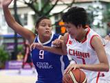 中国女篮闯入八强