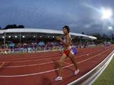 中国首枚田径奖牌:毛艳雪摘得女子5000米竞走银牌