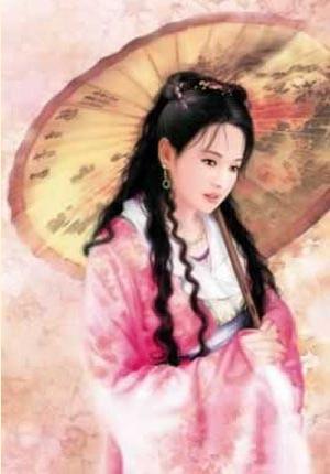 西施杨贵妃王昭君蔡文姬等中国古代十大美女图