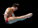 邱波轻松摘取男子跳水10米台冠军